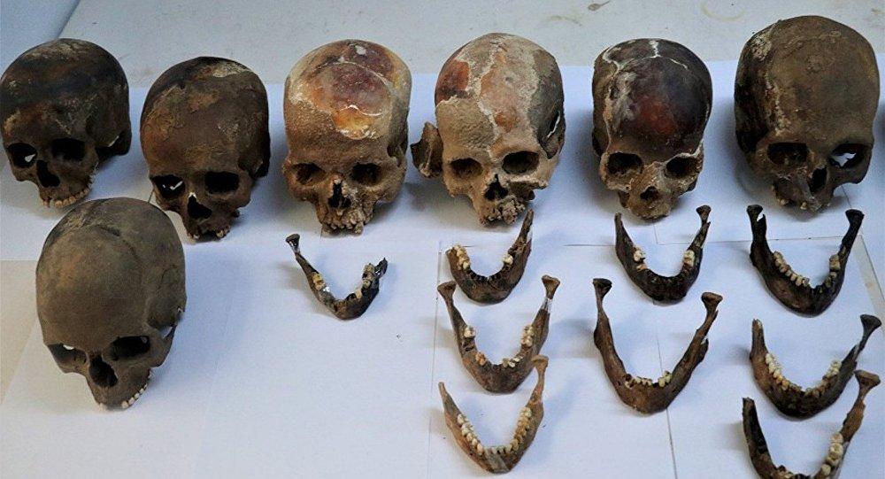 Kadıini Mağarası'nda binlerce yıllık toplu mezar bulundu