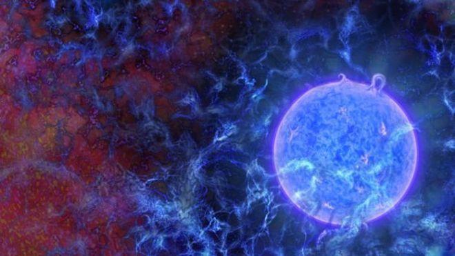 Evrenin ilk yıldızlarından gelen sinyaller keşfedildi