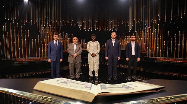 Kur'an-ı Kerim'i Güzel Okuma Yarışması'nda 3.hafta 5. bölümde birinci Murat Çiçek oldu