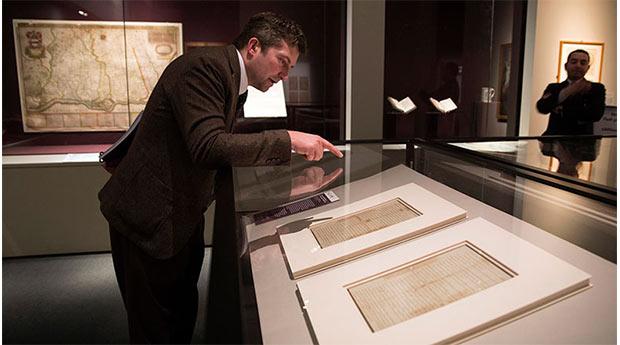 Magna Carta belgeleri ilk defa İngiltere dışında