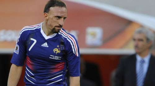 İsyankar Ribery!..