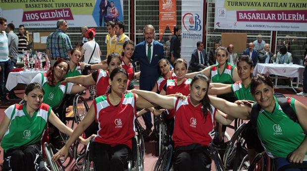 Engelli sporcular potada engel tanımadı
