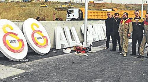 Galatasaray'da Logo Skandalı!