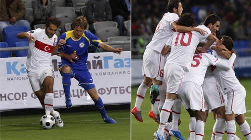 Kazakistan'ı 3 Golle Geçtik