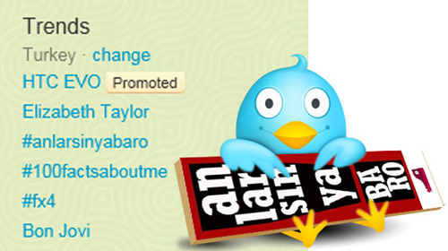 'Anlarsın ya Baro' Twitter'da da 'Trend' Oldu