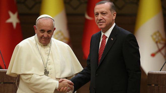 Tarihi Vatikan ziyareti başlıyor