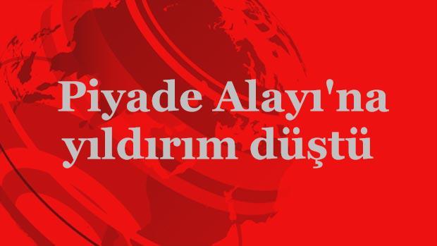 Tokat'ta Piyade Alayı'na yıldırım düştü: 4 asker yaralı!