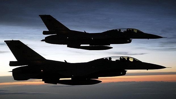 Türk ve koalisyon uçaklarından DAEŞ'e hava saldırısı