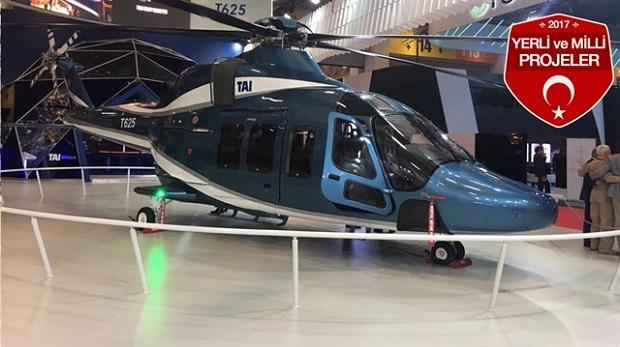 Türkiye'ye 'özgü' helikopter 2018'de uçacak