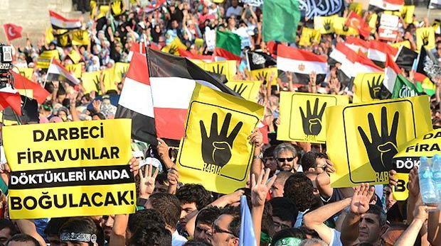 Rabia işareti dünya gündeminde