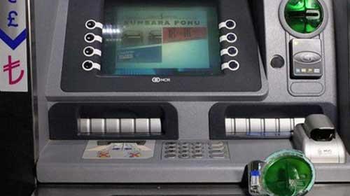 ATM'deki düzenek polisi şaşkına çevirdi