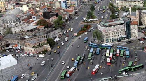 James Bond İstanbul'u Trafiğe Kapatacak