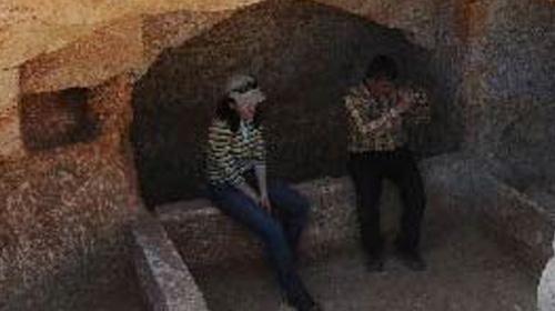 Mersin'de 1500 Yıllık Mezar Bulundu