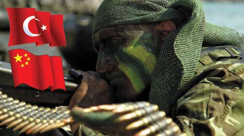 Türk Çin Orduları Ortak Eğitimde
