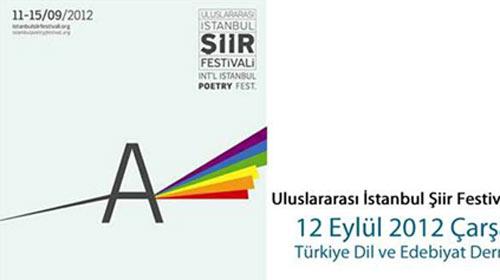Uluslararası İstanbul Şiir Festivali başlıyor!