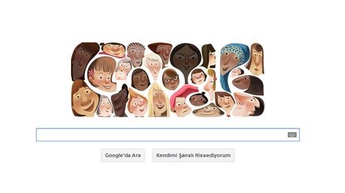 Google, kadınları unutmadı