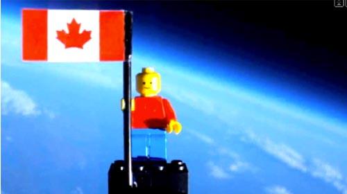 Kanadalılar Uzaya Lego Yolladı