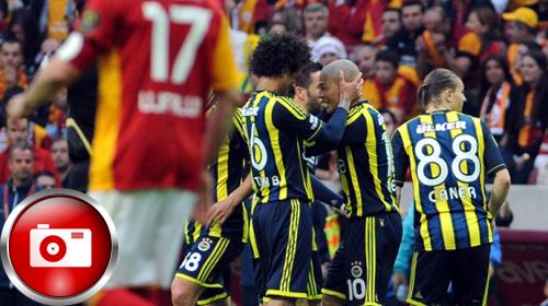 Derbi Fenerbahçe'nin 1-2