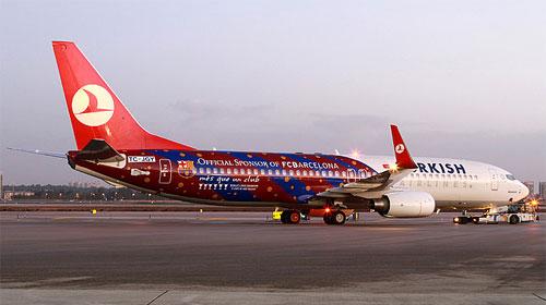 THY'nin En Büyük Uçağı Barcelona'ya Hazır