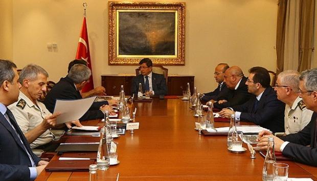 Başbakanlık'ta güvenlik toplantısı