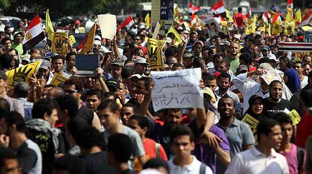 Mısır'da gösteriler sürüyor