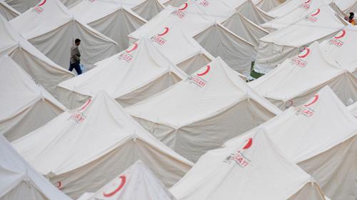 Çadır Yangınlarının Önüne Geçecek Proje