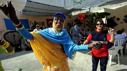 Mogadişu'da Türk Usulü Zılgıtlı Düğün