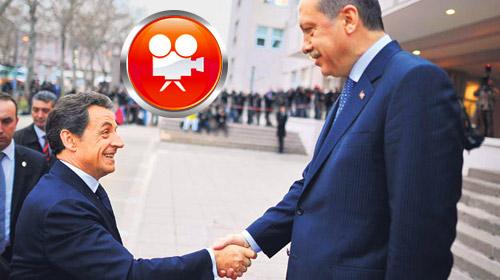 Sarkozy'e Sakızlı Uğurlama