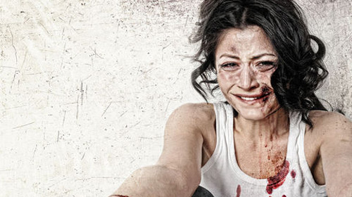 Kadına Şiddet Sergisine Ünlü Desteği