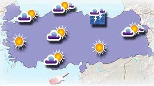 İstanbul'da Hava Isınacak