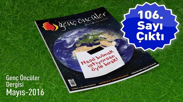 Genç Öncüler Dergisi Mayıs Sayısı Çıktı!