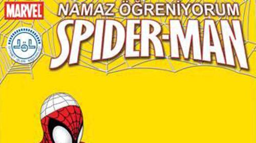 Örümcek Adam namaza başladı