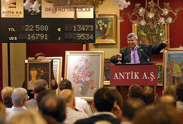 Türk resminin başyapıtları satışa çıkıyor