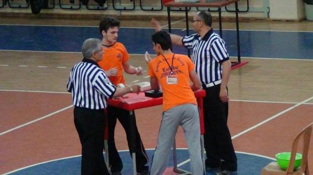 Türkiye Bilek güreşi şampiyonası başlıyor