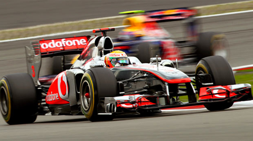 Almanya Grand Prix'si Hamilton'un