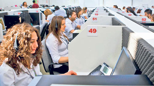 Gençler İçin Yeni İş Kapısı, Çağrı Merkezleri