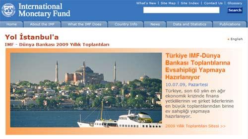 IMF'in Sitesi Artık Türkçe
