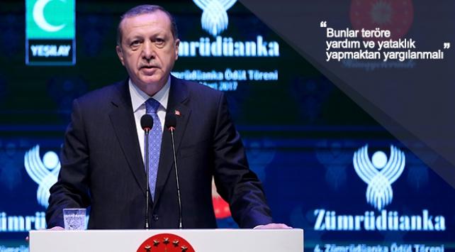 """Erdoğan:""""DW'nin temsilcisi bir ay Alman Konsolosluğunda saklandı."""""""