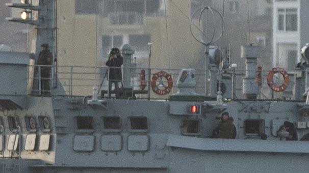 Rus gemisinde füze gitti fotoğraf makinası geldi