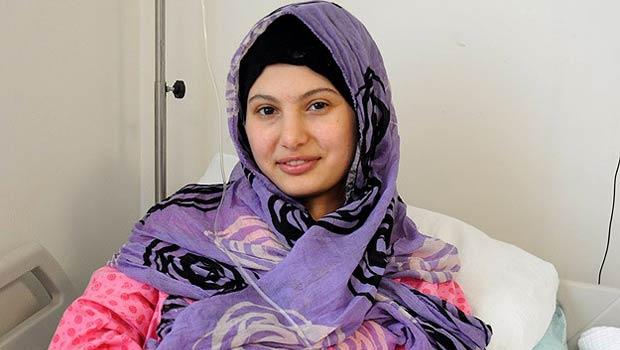 Suriyeli Fatma Türkiye'de şifa buldu