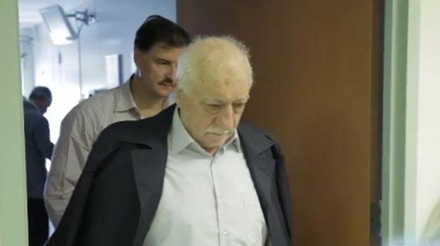 İşte Fethullah Gülen'in hastane görüntüleri