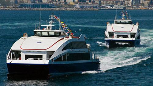 İstanbul'da Lodos Yüzünden Seferler İptal