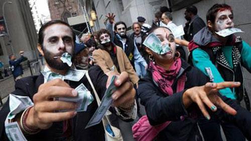Zombiler Kapitalizme Karşı