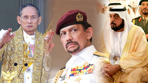 Dünyanın En Zengin Liderleri
