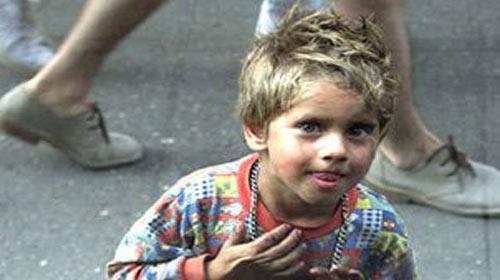 Kayıp Çocuklara Mavi-Beyaz Umut