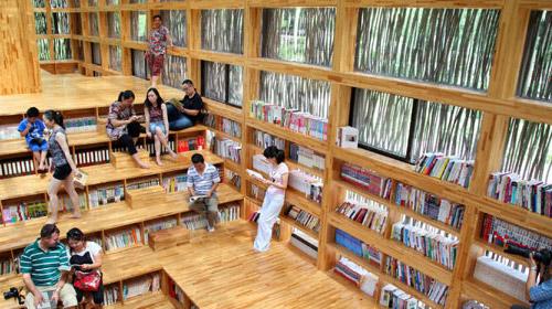 Çevreci kütüphane