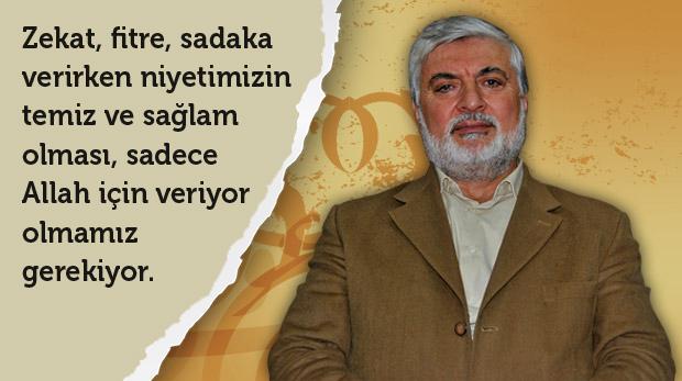 """""""Zekât İslam'ın köprüsüdür"""""""