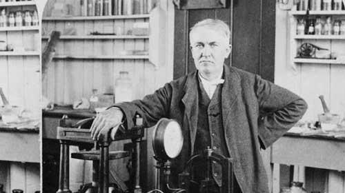 Edison ampulü nasıl icat etmiştir?