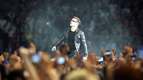 U2 Şovuyla Büyüledi