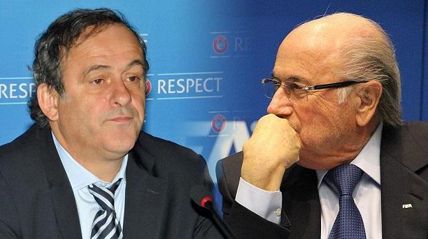Blatter ve Platini'ye 8 yıl men cezası